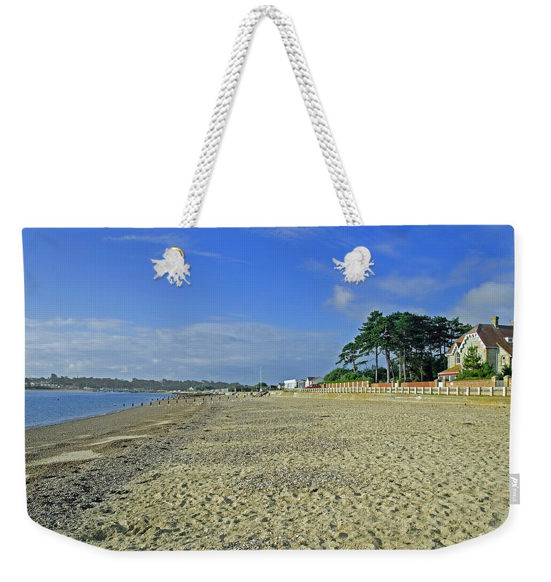 St Helens Weekender Tote Bag featuring the photograph St Helens Beach by Rod Johnson