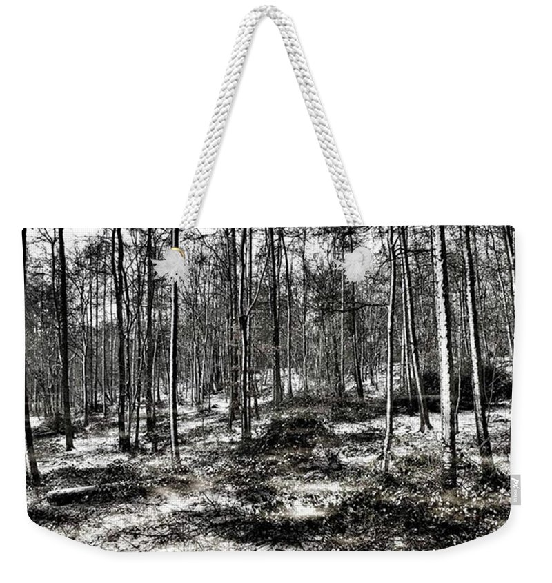 Stlawrenceswood Weekender Tote Bag featuring the photograph St Lawrence's Wood, Hartshill Hayes by John Edwards