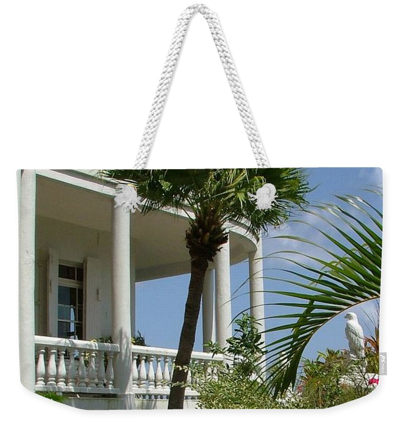 St Lucia Weekender Tote Bag featuring the photograph St Lucia Overlook by Neil Zimmerman