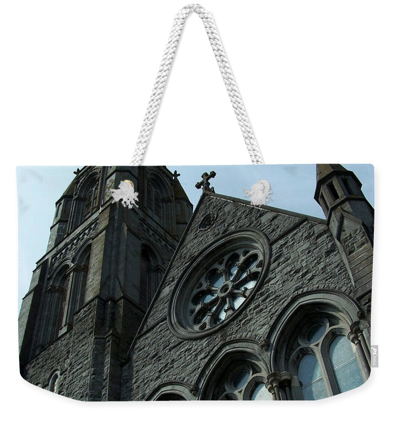Ireland Weekender Tote Bag featuring the photograph St. Mary's Of The Rosary Catholic Church by Teresa Mucha
