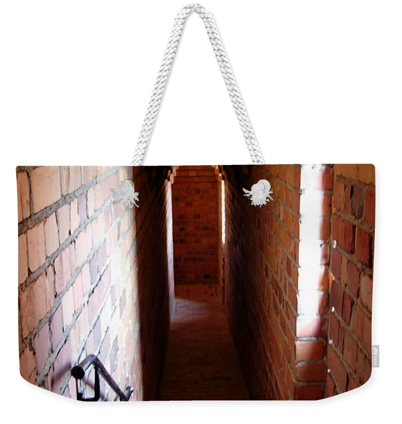 Stadshuset Stockholm Weekender Tote Bag featuring the photograph Stadhuset's Corridor by Elaine Berger