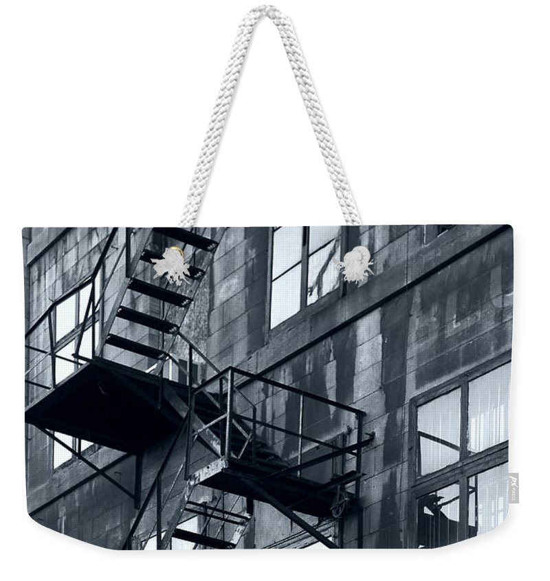 Canada Weekender Tote Bag featuring the photograph Stairs by Pierre Logwin