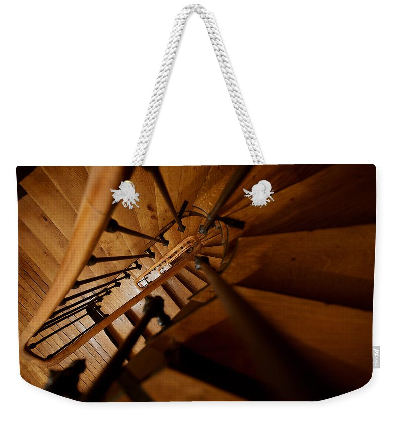 Lawrence Weekender Tote Bag featuring the photograph Stairs To Infinity by Lawrence Boothby