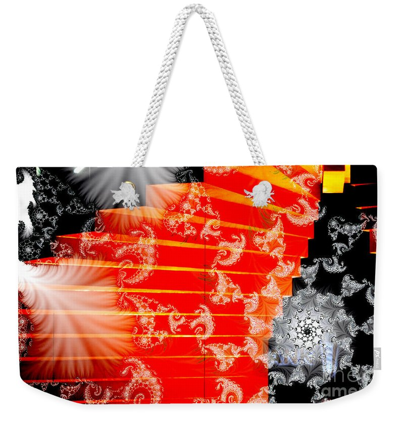 Clay Weekender Tote Bag featuring the photograph Stairway To Heaven by Clayton Bruster