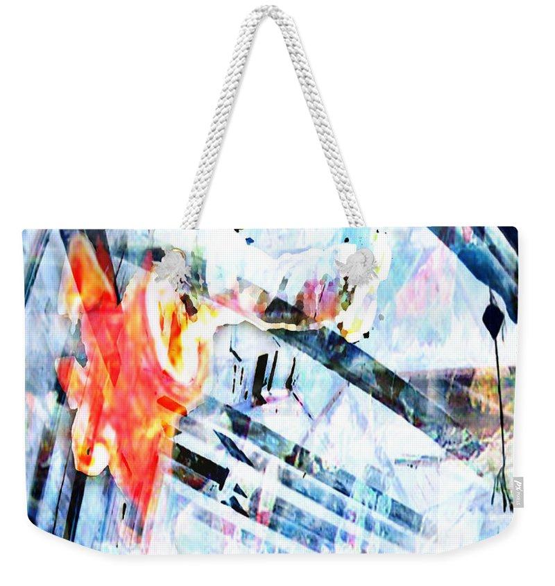Hip-hop Weekender Tote Bag featuring the digital art Stand by Ken Walker