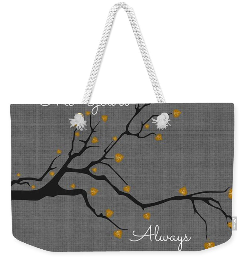 Stand Tall Weekender Tote Bag featuring the digital art Stand Tall by Chastity Hoff