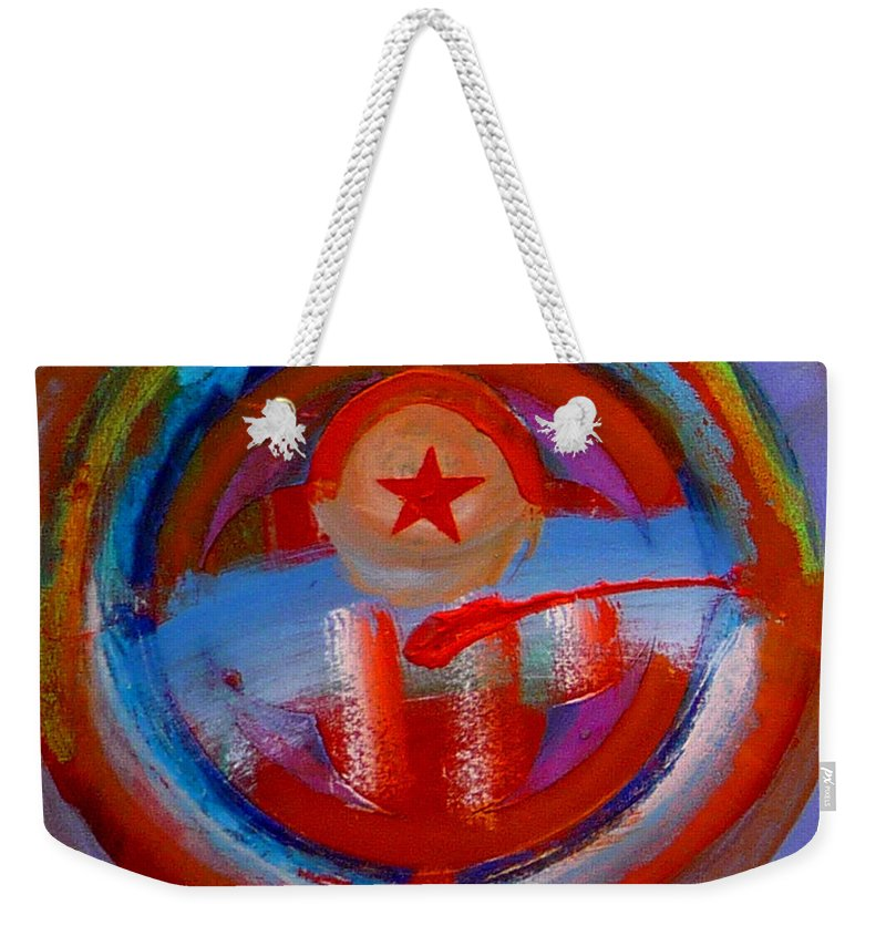 Love Weekender Tote Bag featuring the painting Star Of The Sea by Charles Stuart