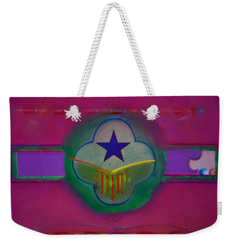 Star Weekender Tote Bag featuring the painting Star Of Venice by Charles Stuart