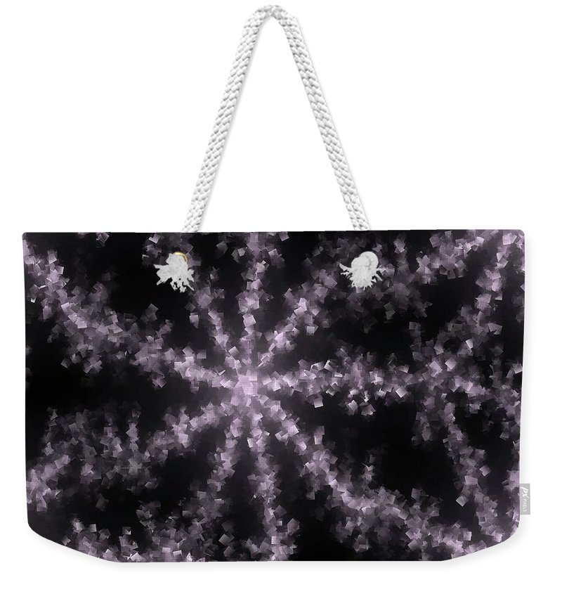 Abstract Weekender Tote Bag featuring the photograph Starfish by Jeff Swan