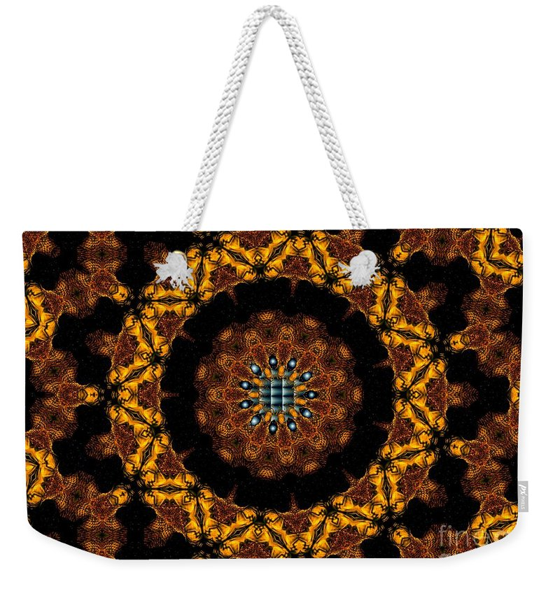 Design Weekender Tote Bag featuring the digital art Starlight by Robert Orinski