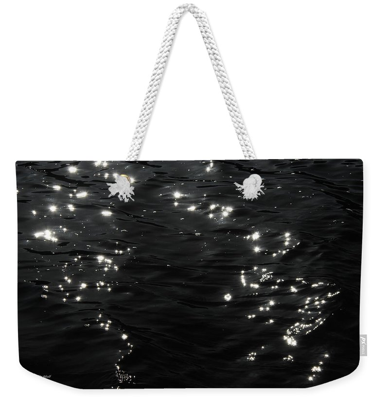 Water Weekender Tote Bag featuring the photograph Starry Night by Donna Blackhall