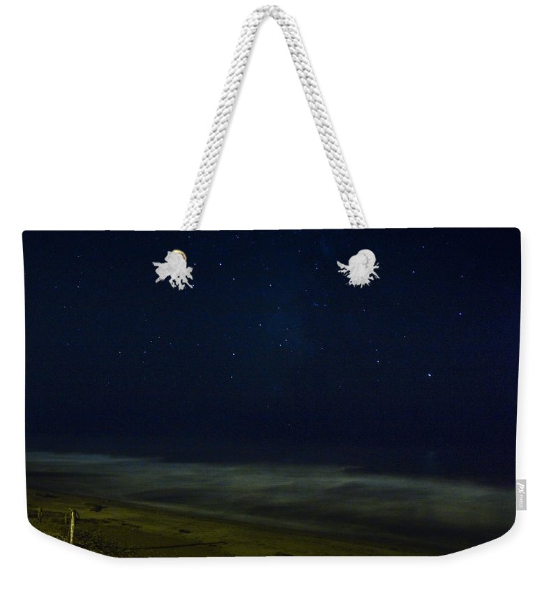 Nature Weekender Tote Bag featuring the photograph Starry Night by John K Sampson