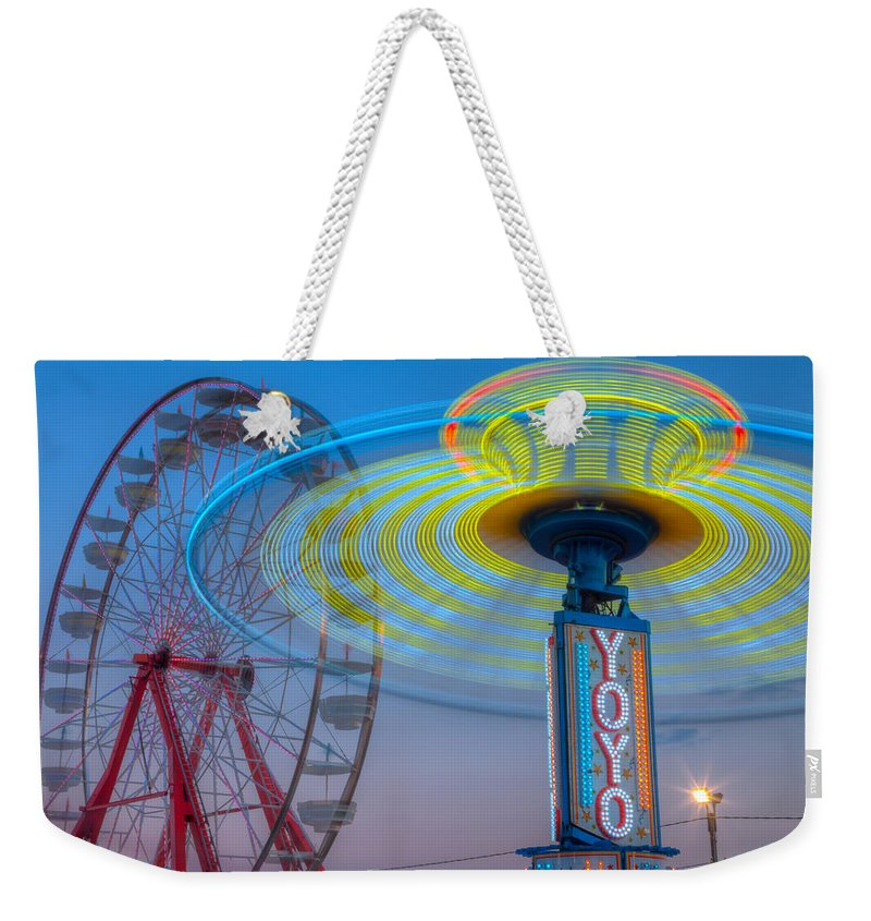 Clarence Holmes Weekender Tote Bag featuring the photograph State Fair I by Clarence Holmes