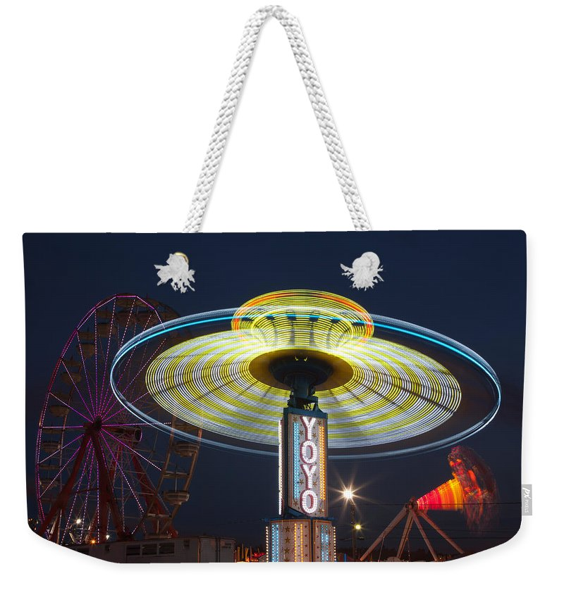 Clarence Holmes Weekender Tote Bag featuring the photograph State Fair IIi by Clarence Holmes
