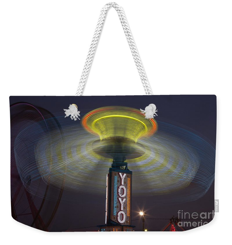 Clarence Holmes Weekender Tote Bag featuring the photograph State Fair Iv by Clarence Holmes