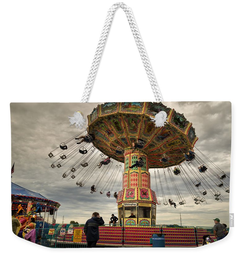 State Weekender Tote Bag featuring the photograph State Fair Of Oklahoma IIi by Ricky Barnard