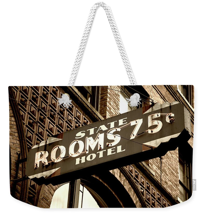 Washington Street Weekender Tote Bags