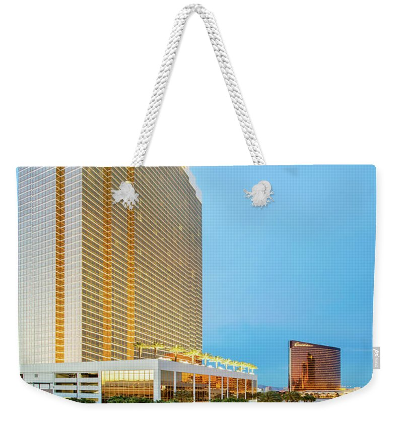 Las Vegas Weekender Tote Bag featuring the photograph Stay A While by Az Jackson