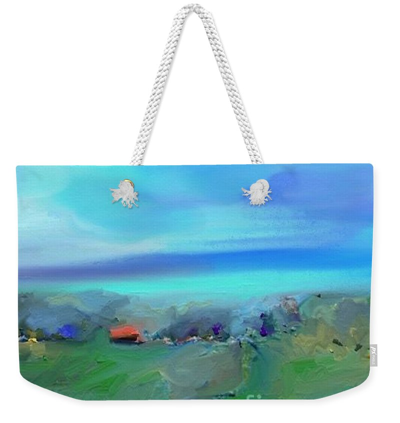 Impressionism Weekender Tote Bag featuring the painting Ste Rose Du Nord by Aline Halle-Gilbert