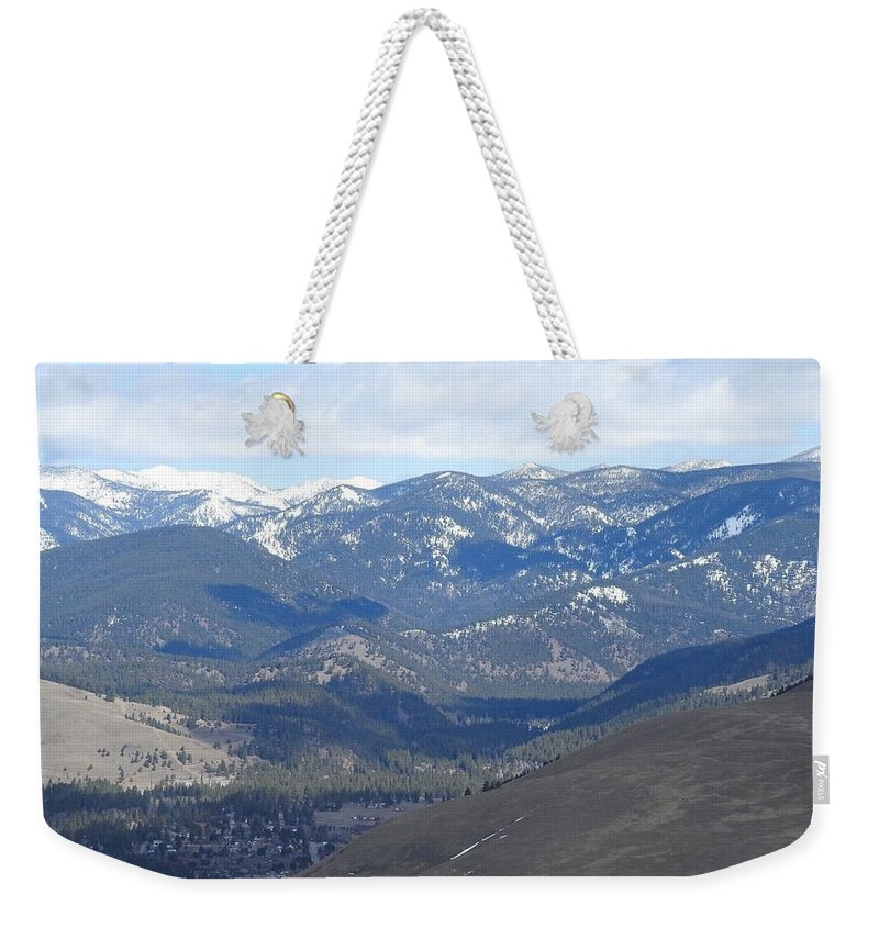 Weekender Tote Bag featuring the photograph Stealth Shadows by Dan Hassett