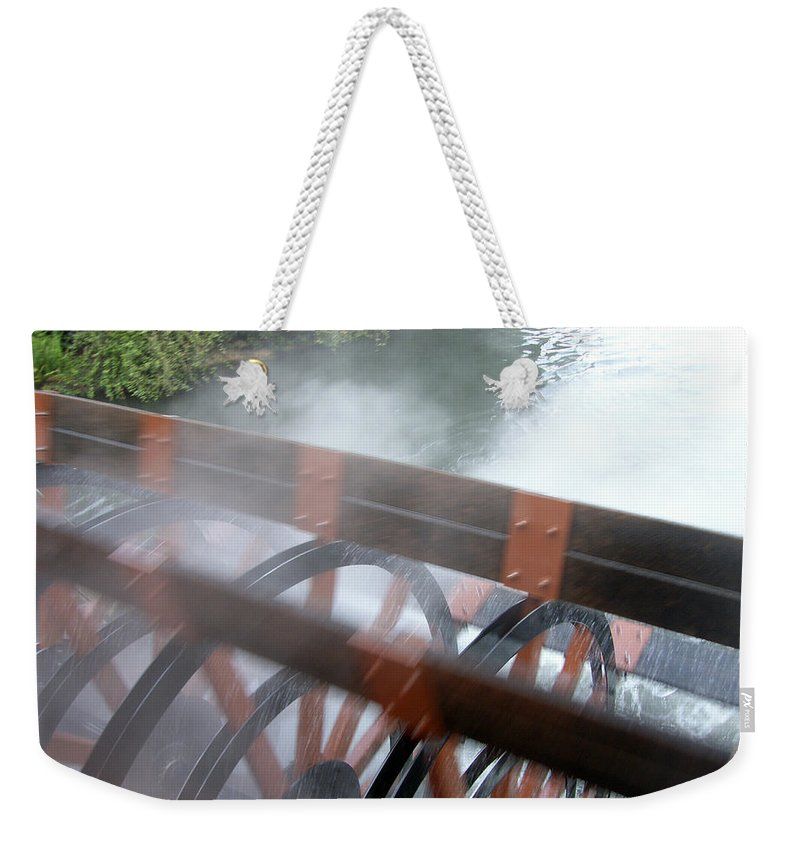 Steamboat Weekender Tote Bag featuring the photograph Steamboat by Are Lund