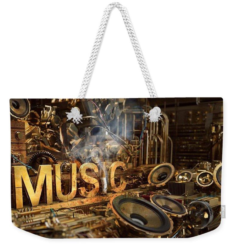 Steampunk Weekender Tote Bags