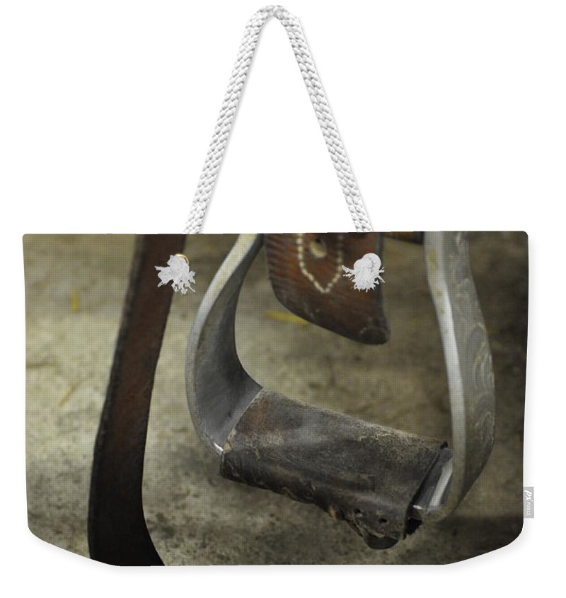 Horse Weekender Tote Bag featuring the photograph Step Right Up by Eduard Meinema