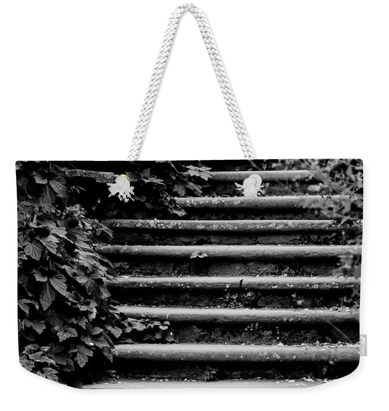 Steps Weekender Tote Bag featuring the photograph Steps by Catherine Balfe