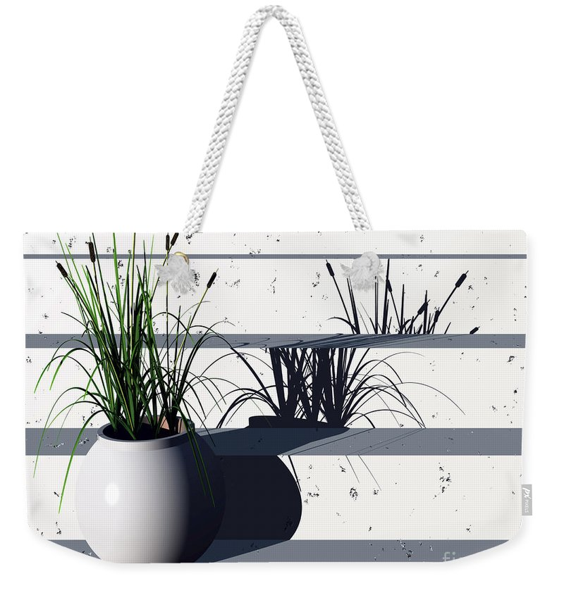 Steps Weekender Tote Bag featuring the digital art Steps by Richard Rizzo