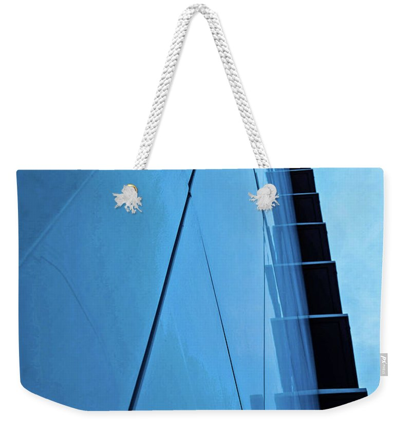 Architecture Weekender Tote Bag featuring the photograph Steps To The Sky by Shari Emme