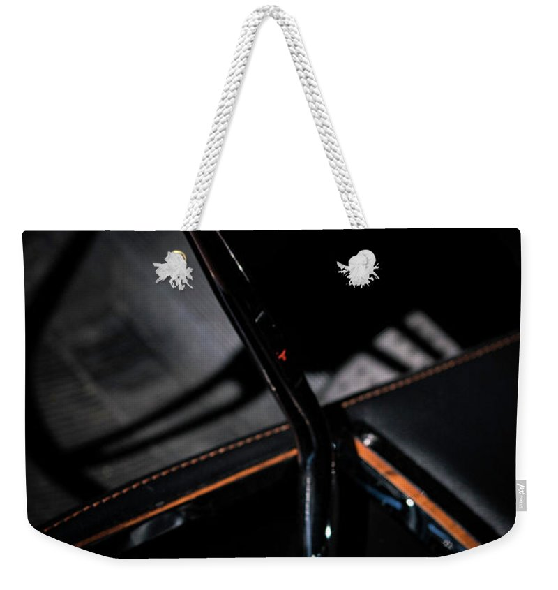 Fine Art Weekender Tote Bag featuring the photograph Stick Shift by Michael Baranowski