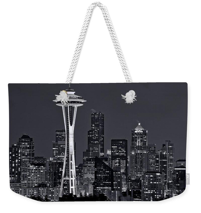 Seattle Weekender Tote Bags