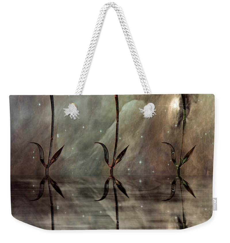 Floral Weekender Tote Bag featuring the photograph Still by Jacky Gerritsen