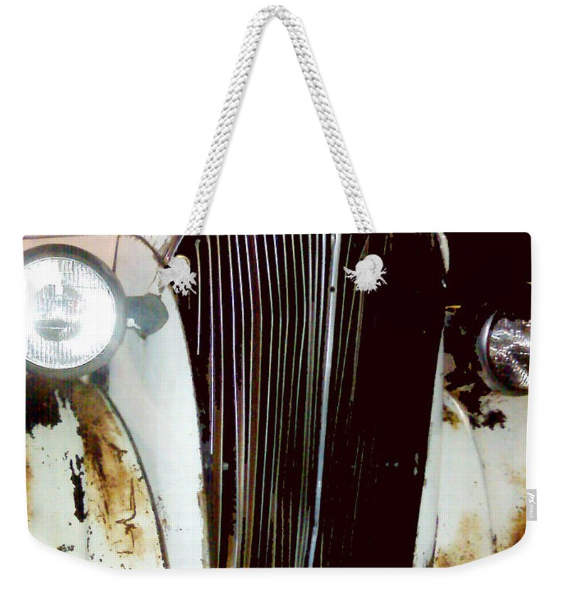 Trucks Weekender Tote Bag featuring the photograph Still Truckin by Amanda Barcon