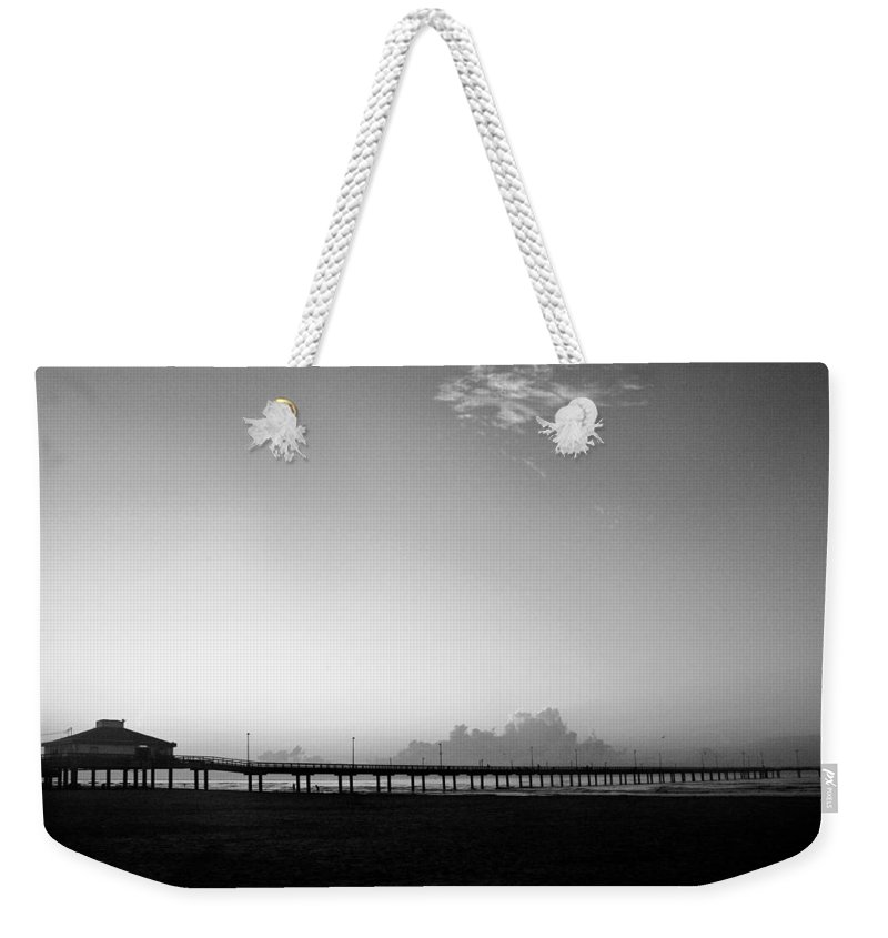 Sunrise Weekender Tote Bag featuring the photograph Stillness Befor Dawn by Marilyn Hunt