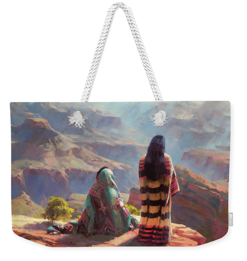 Grand Canyon National Park Weekender Tote Bags