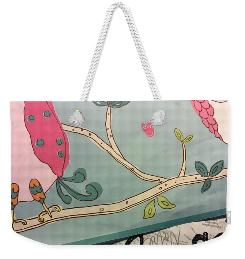 Abstract Weekender Tote Bag featuring the photograph Stolen Moments by Alwyn Glasgow