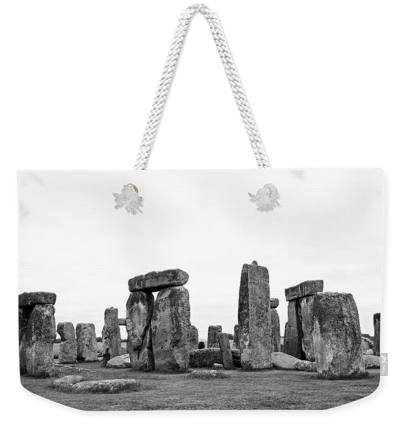 Stonehenge Weekender Tote Bag featuring the photograph Stonehenge by Bob Kemp