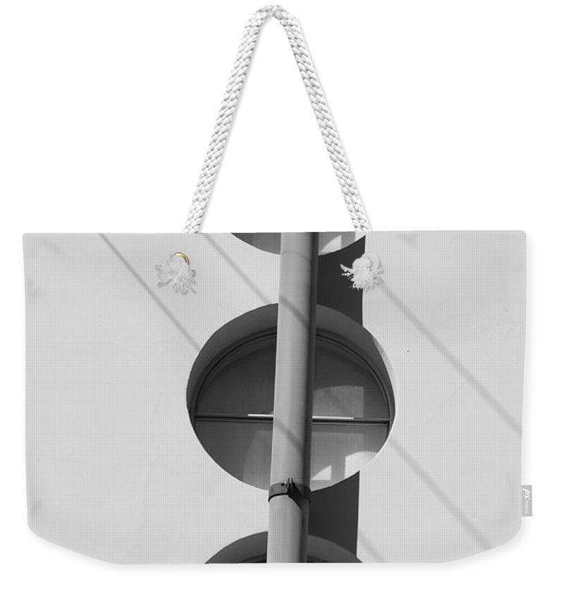 Architecture Weekender Tote Bag featuring the photograph Stop Yield And Go by Rob Hans