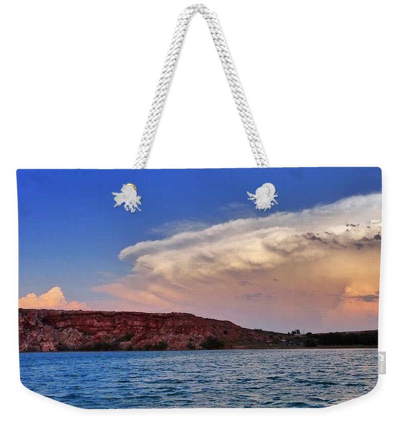 Skip Hunt Weekender Tote Bag featuring the photograph Storm Brew by Skip Hunt