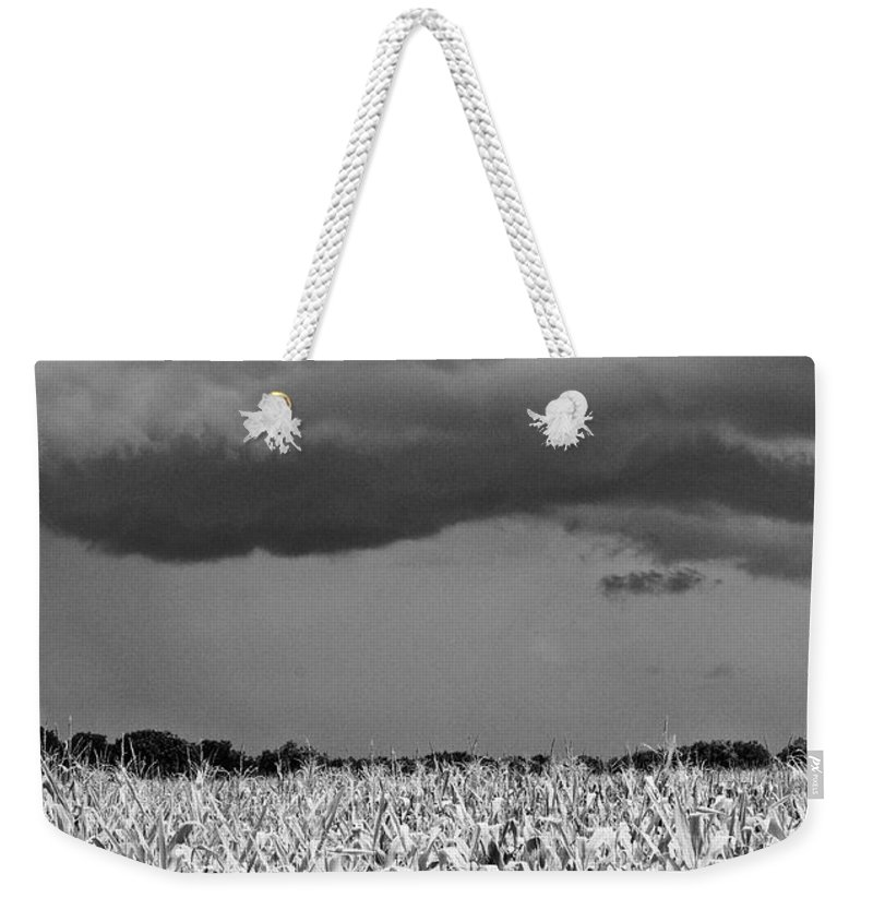 Weather Weekender Tote Bag featuring the photograph Storm by Gary Richards