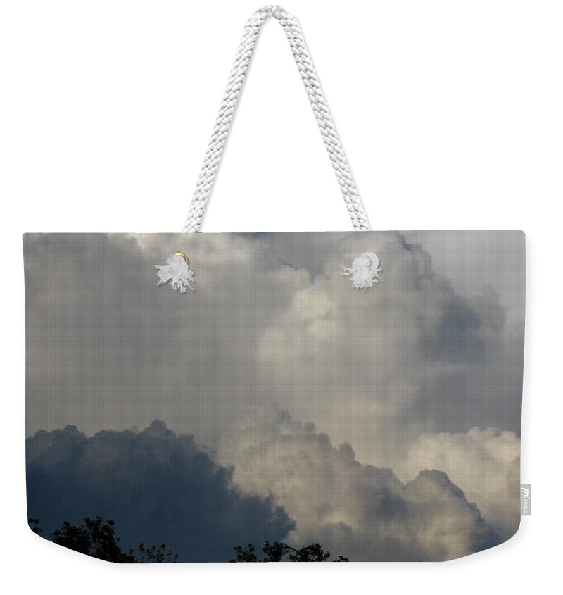 Clouds Weekender Tote Bag featuring the photograph Storm by Greg Patzer