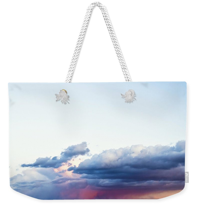 Beach Weekender Tote Bag featuring the photograph Storm by Svetlana Sewell