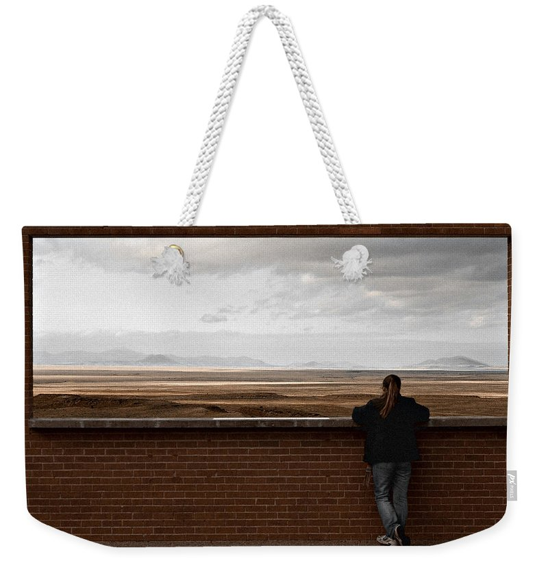 Storm Weekender Tote Bag featuring the photograph Storm View by Scott Sawyer