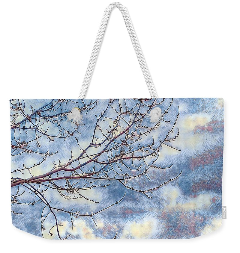 Winter Weekender Tote Bag featuring the photograph Storm Watch by Jim Thomas