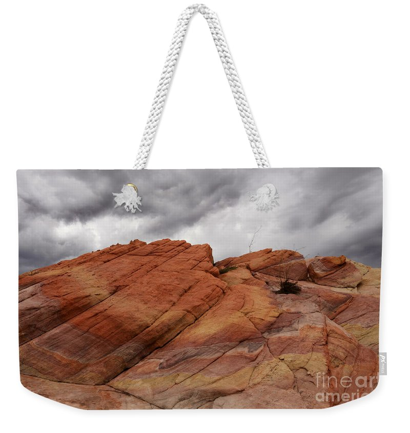 Nevada Weekender Tote Bag featuring the photograph Stormy Weather 4 by Bob Christopher