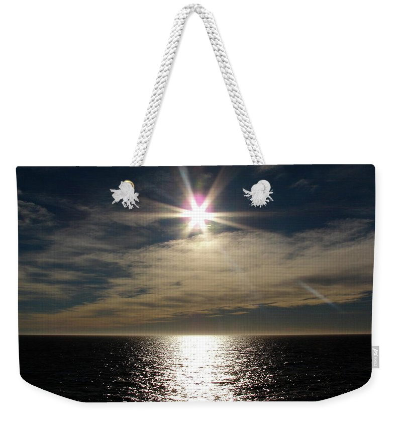 Straits Of Magellan Weekender Tote Bag featuring the photograph straits of magellan II by Brett Winn