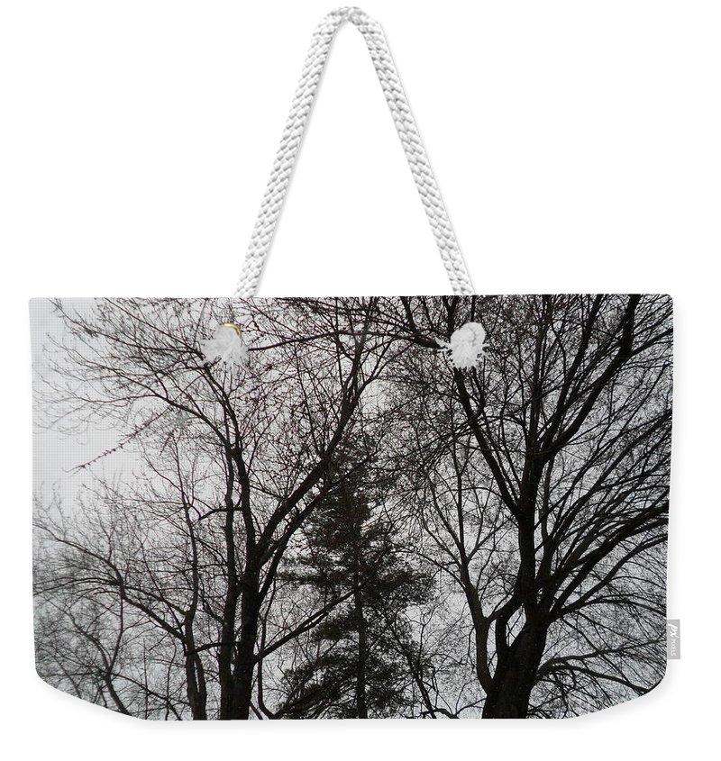 Strange Weekender Tote Bag featuring the photograph Strange Days by Darrin Ingram