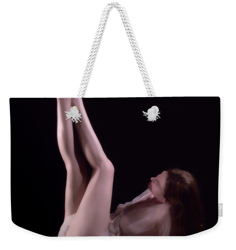 Female Weekender Tote Bag featuring the photograph Strawberry Shortcake by Donna Blackhall