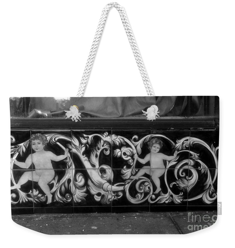 Innocence Weekender Tote Bag featuring the photograph Street Innocence by David Lee Thompson